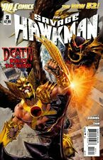 SAVAGE HAWKMAN (2011) #3 VF THE NEW 52!