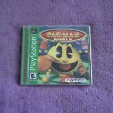 Pac-Man World 20th Anniversary  Sony PlayStation 1 1999 PS1 NAMCO COMPLETE