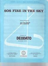 partition DEODATO sos fire in the sky