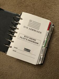 Us Aiways 737 Pilot Operating Handbook 300/400 Model