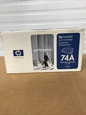 HP OEM Genuine 92274A 74A Black Toner New in Sealed Box 4L 4P