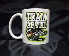 "Reproduction Vintage Arctic Cat ""Team Arctic"" Snowmobiler Logo Coffee Mug"