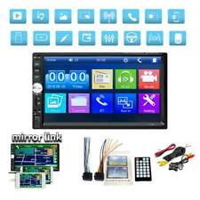 """7"""" Double 2Din Car Mp5 Player Bluetooth Touch Screen Stereo Radio Usb Aux+Camera (Fits: Dodge Shadow)"""