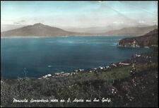 cartolina S.AGATA SUI DUE GOLFI penisola sorrentina vista da..