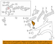 HONDA OEM 16-17 HR-V FENDER-Reinforcement Plate Right 60844T7WA00ZZ