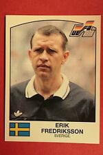 Panini EURO 88 N. 262 FREDRIKSSON WITH BACK VERY GOOD/MINT CONDITION!!!