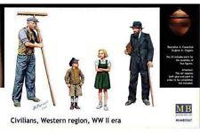 MasterBox MB3567 1/35 Civilians Western Region, WW II era