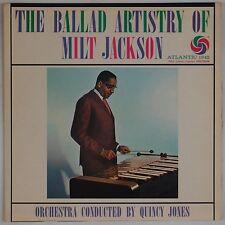 MILT JACKSON: The Ballad Artistry Of USA Atlantic Purple / Red MONO LP NM- Jazz