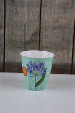 Ginger - Melamin Cup M - Becher - Sweet Botanical - Blumen / Agapanthus - mint