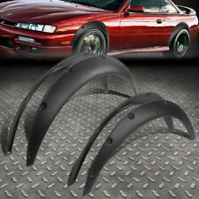 "UNIVERSAL FIT MOST REAR WHEEL DRIVER CAR 1.8""F/2.5""R POCKET-RIVETED FENDER FLARE"