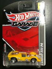 Hot Wheels Garage - Ferrari 330 P4  Die-cast w/Real Riders  FREE SHIPPING