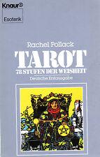 TAROT - 78 Stufen der Weisheit - Buch mit Rachel Pollack - KNAUR