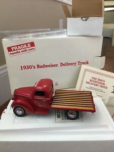 Danbury Mint 1930's Budweiser Delivery Truck 1/24 Scale With Certificate New