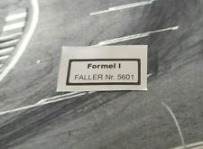 FALLER display box Repro Sticker Formel l Nr. 5601