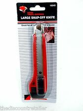 """NEW SNAP-OFF KNIFE 6"""" CRAFT UTILITY CUTTING BLADE 6 INCH IN. RETRACTABLE HOBBY"""