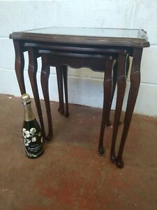 Vintage Nest Of Coffee Tables FREE MANCHESTER DELIVERY