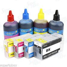 Refillable Ink Cartridge Kit for Canon PGI-1200 MAXIFY MB2020 MB2320 Non-OEM