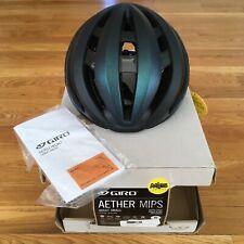 New Giro Aether Mips Road Bike Helmet Size Small Matte Black Pearl 51-55cm