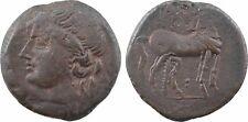 Zeugitane, Carthage, grand bronze, 215 208 - 14