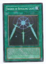 Legend of Blue Eyes White Dragon Unlimited #LOB101 Swords of Revealing Light