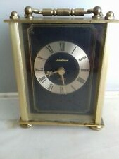 Vintage Angelique Quartz Clock Made In Germany Fully Working