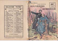 Collect. Patrie - Souvenirs d'un Aumonier - N°123-EO - 1919  Spitzmuller