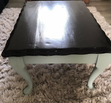 Black Small Side Coffee Table Vintage Furniture used in very good condition