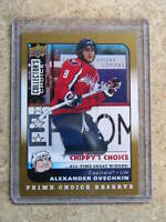 08-09 UD CC Gold Prime Reserve ALEXANDER OVECHKIN