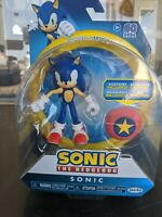 *NEW* SONIC the Hedgehog Jakks Pacific 4 inch STAR SPRING ACTION FIGURE