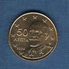 Gréce - 2008 - 50 centimes d'euro - Pièce neuve de rouleau -