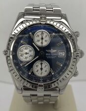 Breitling Chronomat Automatic Chronograph Blue Dial Steel A13050.1