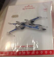 NYCC 2017 Hallmark Exclusive STAR WARS T-70 X-WING FIGHTER Ornament