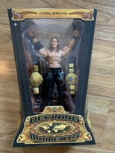 WWE MATTEL ELITE DEFINING MOMENTS CHRIS JERICHO