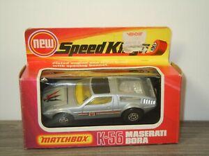 Maserati Bora - Matchbox Speed Kings K-56 England in Box *53522