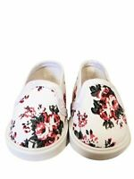 American Doll Floral Tennis Shoes Clothes Compatible 18 in American Girl Clothes