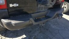 06-10 Hummer H3 Rear Bumper - Metal with Step Plastic - Black