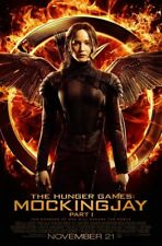 HUNGER GAMES MOCKINGJAY PART 1 MOVIE POSTER 2 Sided ORIGINAL FINAL 27x40