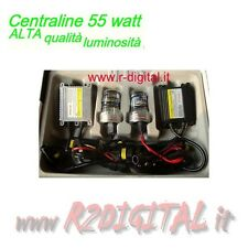 KIT XENON HID H7 8000K 55W SLIM LAMPADE AUTO XENO BIANCA BALLAST 55 WATT QUALITA