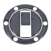 3D Carbon Fiber Gas Cap Cover Pad Sticker For Triumph Aprilia Shiver 750 KTM 990