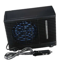 12V Mini Evaporative Air Conditioner Portable Cooler Camping Ice Cooling Fan