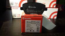 KIT 4 PASTIGLIE FRENI ANTERIORI RENAULT CLIO IV (BH) BREMBO P68033