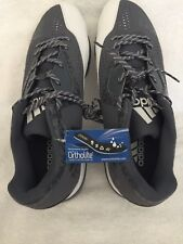 adidas baseball cleats Size 14 ortholite mens sz14 grey/white iron skin
