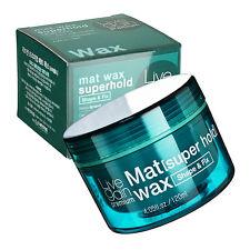 Livegain Premium Mat Wax Superhold 4.05 fl.oz.(120ml) Matte Hair wax Strong Hold