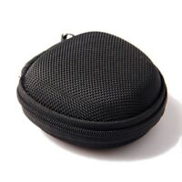 Carrying Hard Zip Case Bag Pouch for Earphone Headphone iPod MP3 O1R9