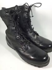 Altama Black Boots Size 9R 6300 Spike Protective Military Tactical Combat EUC