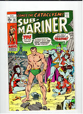 Marvel PRINCE NAMOR SUB-MARINER #33 Jan 1971 vintage comic FN+
