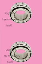2 NTN Left+Right axle Rear Outer Wheel Bearings Roller Set Kit for Saab 900 99