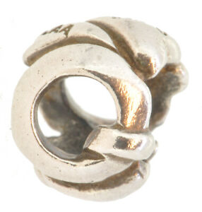 *SALE*FREE UK P&P* Authentic Silver Trollbeads Letter Q-TAGBE-10076