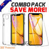 Apple iPhone 11, 11 Pro, 11 Pro Max Clear Case Shockproof Heavy Duty Tough Cover