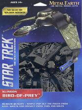 Fascinations Metal Earth 3D Steel Model Kit - Star Trek Klingon Bird of Prey